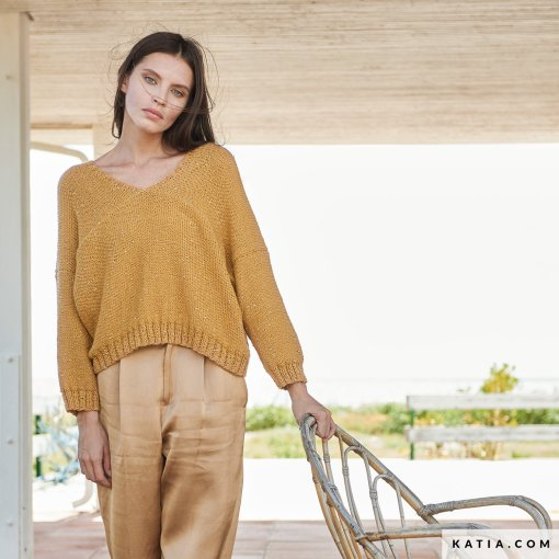 patron-tejer-punto-ganchillo-mujer-jersey-primavera-verano-katia-6254-5-g