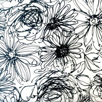 tela_patchwork mascarilla flores garabatos blanco y negro
