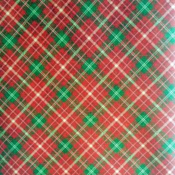 tela_patchwork mascarilla vintage christmas escoces rojo verde