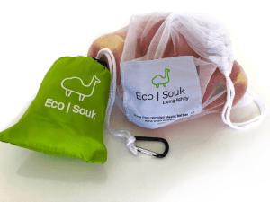 EcoSouk shopping pouches