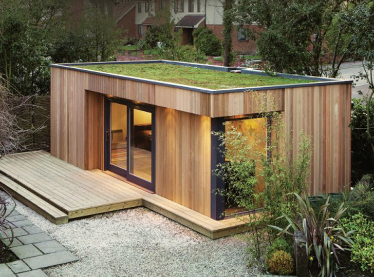 Eco Space Co green-roof Home