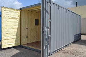 Container Insulation Toronto with Spray Foam Insulation