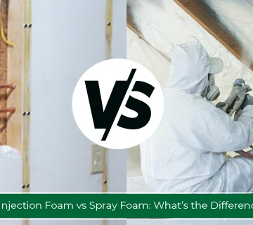 Injection Foam Insulation vs Spray Foam Insulation:What's the Difference?