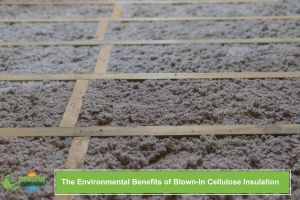 The Environmental Benefits of Blown-In Cellulose Insulation