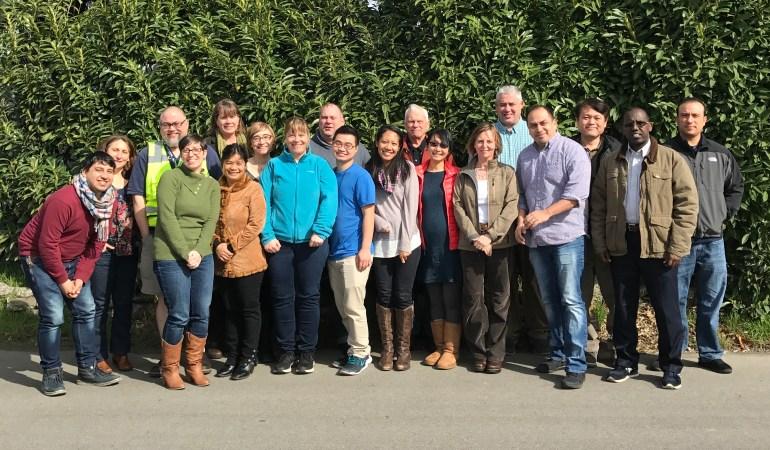 ECOSS staff group photo