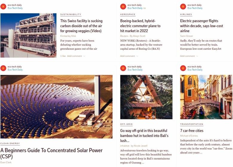 Eco Tech Daily - Flipboard2