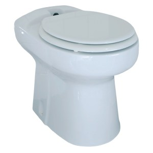 EcoDry Urine-Diverting Toilet