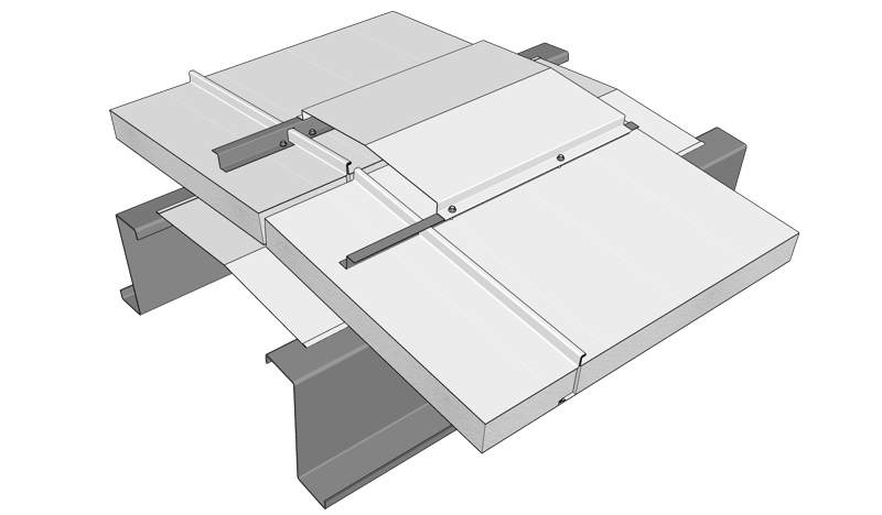 Termopanel Zip detalle cumbrera