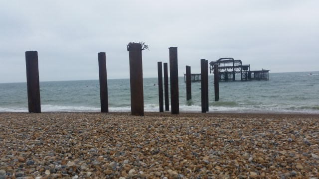 Pebbly beach, Brighton Beach, West Pier, Brighton, Hove, children's activities , beach combing