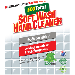 ECOTotal Australia safe and natural Hand Cleaner household cleaning product label
