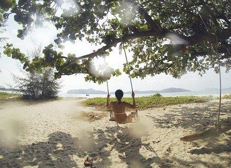 swing beach