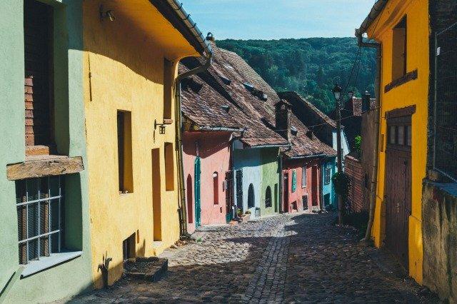 casas con colores