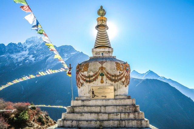 monumento en Nepal