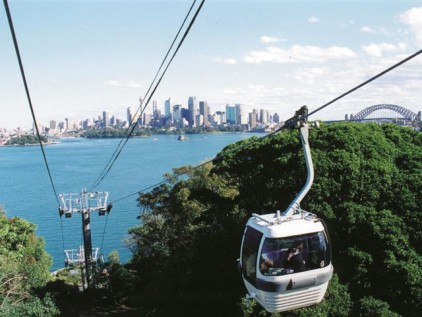 The Cable car at Taronga Zoo, Sydney. Source: sydney.com