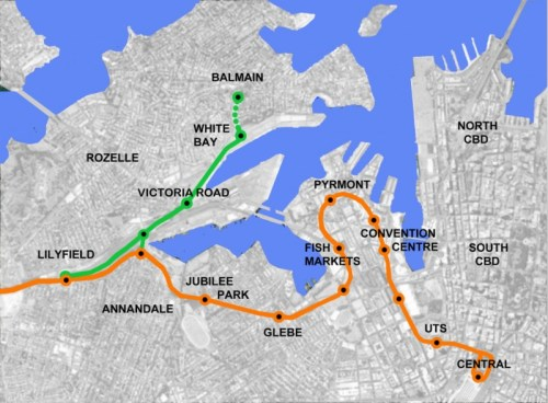 Balmain Light Rail Stage One
