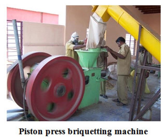 L 24 Piston Press Briquetting Machine
