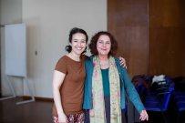 Avec Regina Machado, Directrice du Festival