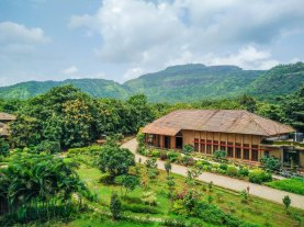 Green Buildings at Govardhan Ecovillage (1)