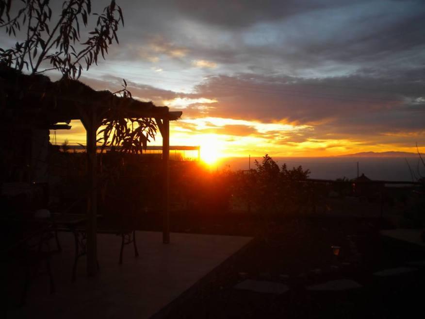 Arafo-Salida del sol