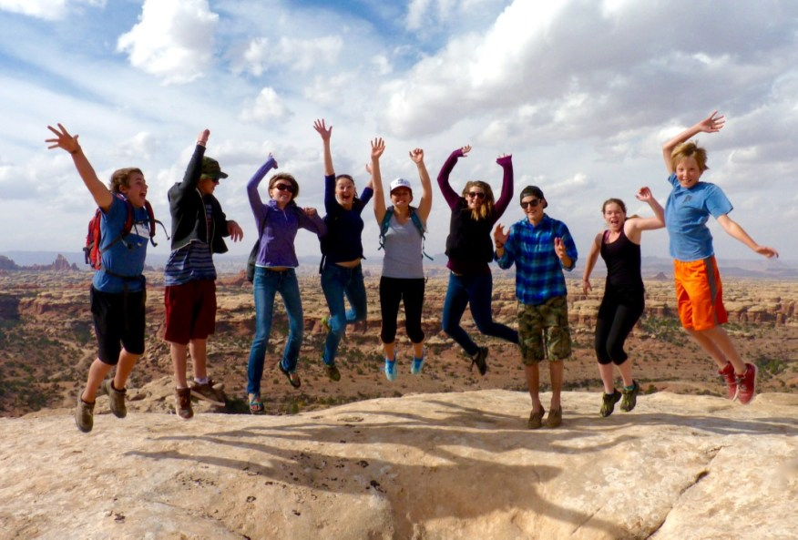 canyonlands jumping