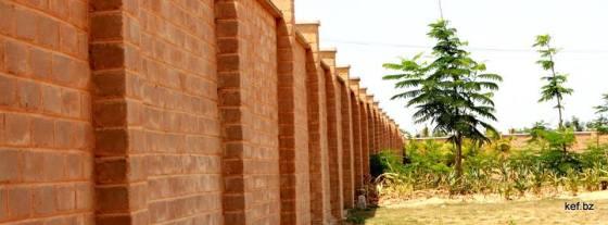 KEV CSMB Compound Wall