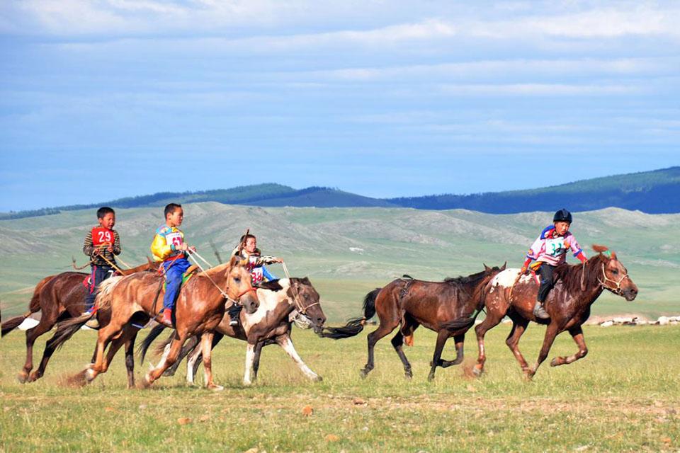 Les Courses De Chevaux Mongols Eco Voyage En Mongolie