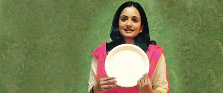 Rhea Singhal With Ecoware Products