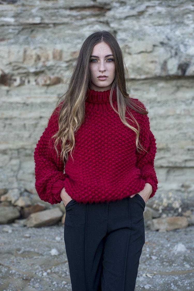 Jessica Greetham Lulu Sweater 2.0 Sustainable Fashion New Zealand