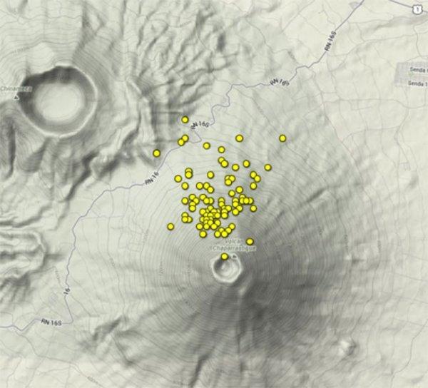 В Южной Америке активизировалась группа известных вулканов