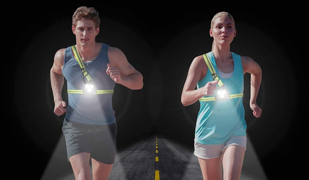 chest running light
