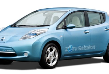 Nissan LEAF plug-in electric car coming soon to a city near you
