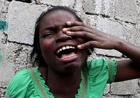 Haiti earthquake victim