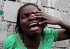 Haiti earthquake victim