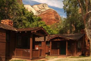 Best green hotels in USA: Zion Lodge, Utah