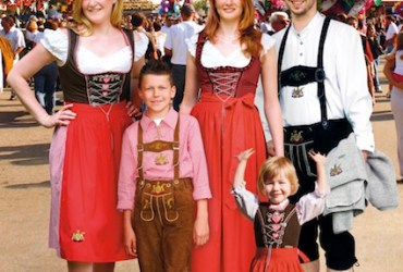 Germany's other Oktoberfest, in Stuttgart, home of Mercedes-Benz and Porsche