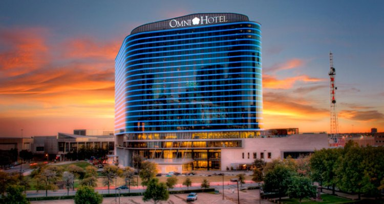 Best green hotels in USA: Omni Dallas LEED certified