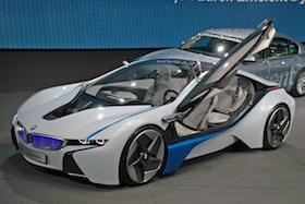 BMW i8 Concept electric car