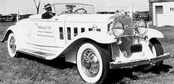 Indy 500 pacecar 1931