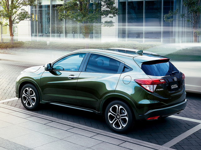 Honda Launches New Vezel Hybrid Suv Ecoxplorer