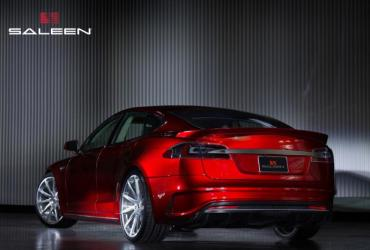 Saleen FourSixteen EV model Tesla S