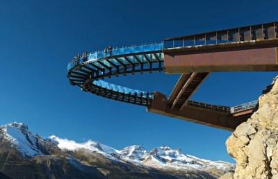 glacier skywalk banff
