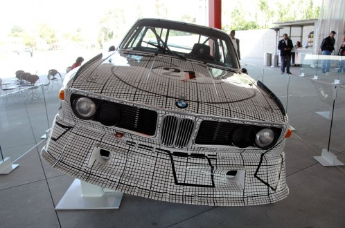 BMW Art Car Frank Stella