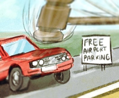 free airport parking