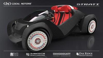 3D printing your car