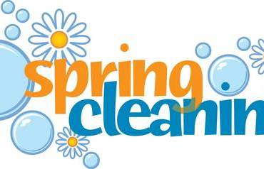 Spring cleaning: toss, re-use or donate