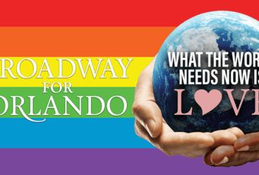 Broadway for Orlando fund-raiser recording