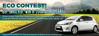 win a 2016 hybrid car