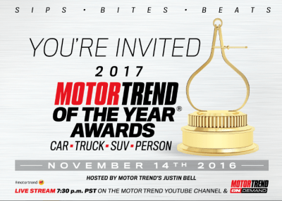 Motor Trend car of the year