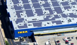 IKEA installs solar roof