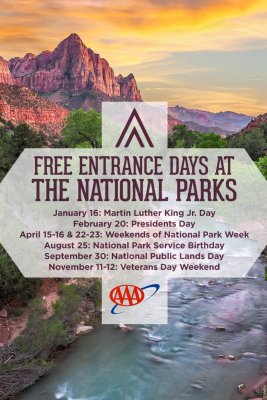 free entry to national parks